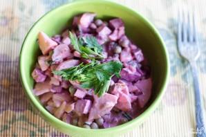 Салат со свеклой и картошкой - фото шаг 4