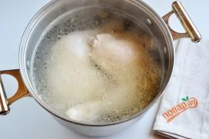Холодец из куриных окорочков - фото шаг 3