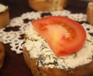 Бутерброды с творогом   - фото шаг 4