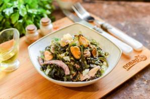 Салат из морской капусты и морского коктейля - фото шаг 7