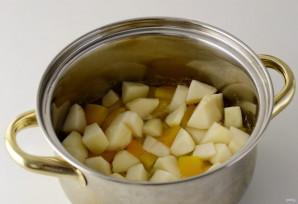 Овощной суп с грушей - фото шаг 5