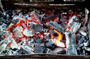 Лаваш с сулугуни на мангале - фото шаг 7