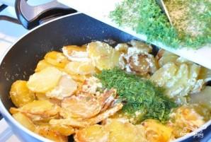 Картофель со сливками - фото шаг 3