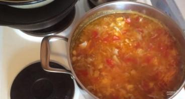 Суп из чечевицы с курицей и овощами - фото шаг 3