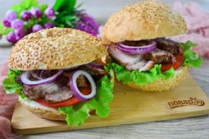 Сэндвичи с глазированной свининой - фото шаг 10