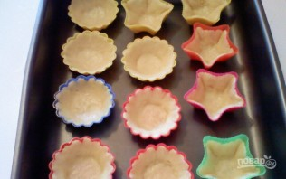 Песочные тарталетки - фото шаг 5