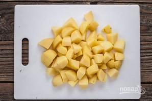 Картофель с чесноком - фото шаг 2