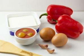 Закуска из перца с брынзой - фото шаг 1