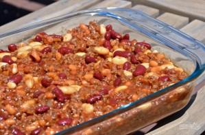 Говядина с фасолью в духовке - фото шаг 7