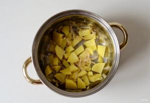 Суп с яблоком и сельдереем - фото шаг 4
