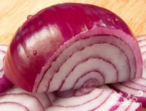 Летний салат с заправкой из пармезана - фото шаг 5