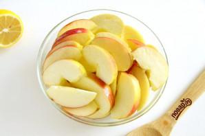 Песочный пирог с яблоками от Юлии Высоцкой - фото шаг 6