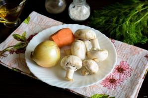 Грибной холодный суп на воде - фото шаг 1