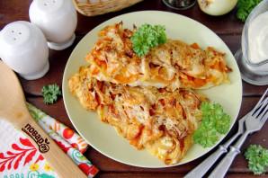 Рыба с морковью и луком в духовке - фото шаг 10