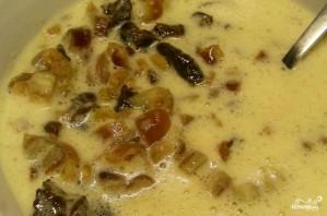 Кекс с сухофруктами на кипятке - фото шаг 1