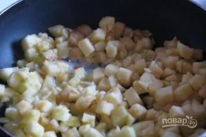 Яблочные тосты на завтрак - фото шаг 2