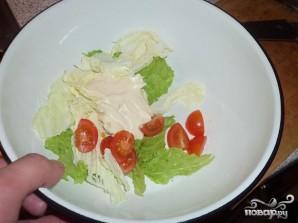 Крабовая закуска и салат - фото шаг 4