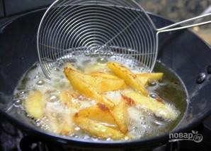 Хрустящая жареная картошка с медом и специями - фото шаг 3
