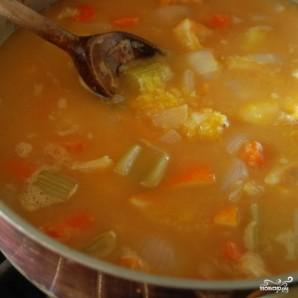 Курица с овощами в цитрусовом соусе - фото шаг 8