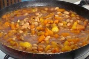 Рагу из фасоли с овощами - фото шаг 5