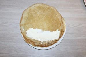 Блинный торт на Масленицу - фото шаг 10