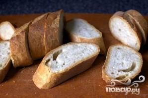 Тосты с салатом из баклажанов - фото шаг 4