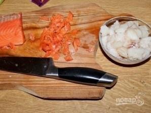 """Рыба """"под шубой"""" в духовке - фото шаг 2"""