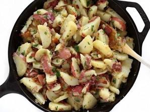 Деревенский картофельный салат - фото шаг 6