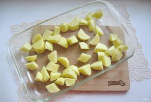 Картошка с курицей по-деревенски в духовке - фото шаг 5