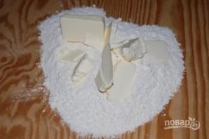 Пирог с белым шоколадом на День Валентина - фото шаг 1