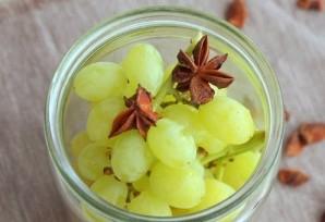 Виноград в сиропе - фото шаг 3