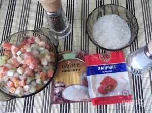 Вкусный рис с овощами - фото шаг 1
