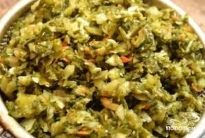 Щи из зеленой квашеной капусты - фото шаг 2