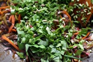 Маринованная говядина с овощами и зеленью - фото шаг 6