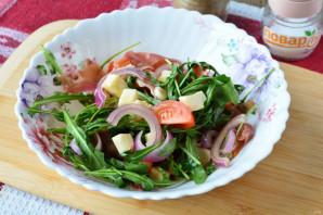 Салат с хамоном и рукколой - фото шаг 6