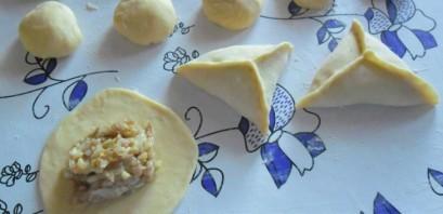 Тесто для самсы на кефире - фото шаг 7