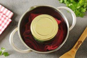 Салат из огурцов с чесноком на зиму - фото шаг 7