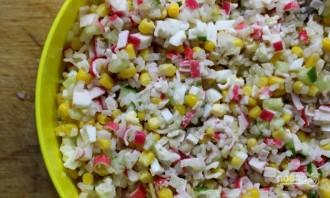 Вкусный крабовый салат - фото шаг 4