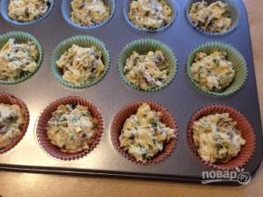 Грибные маффины с сыром и зеленью - фото шаг 10