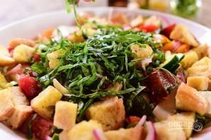 "Итальянский салат ""Панцанелла"" - фото шаг 6"