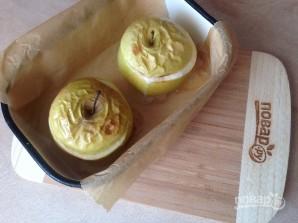 Яблоки, запеченные с джемом и бананом - фото шаг 6