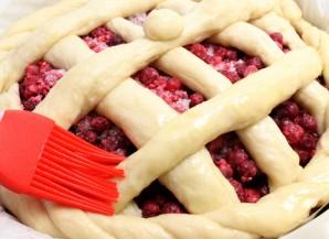 Пирог дрожжевой ягодный - фото шаг 3