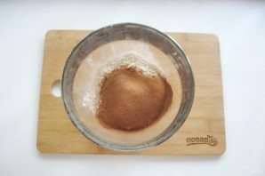 "Американский пирог ""Крейзи кейк"" - фото шаг 3"