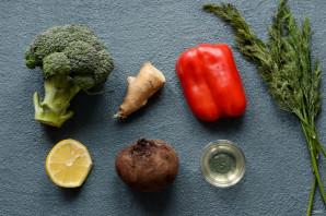 Салат из свеклы и брокколи - фото шаг 1