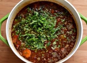 Острый картофельный суп - фото шаг 7