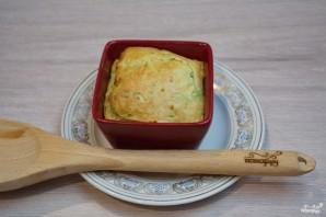 Кабачковое суфле с индейкой под грибным соусом - фото шаг 8