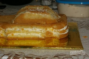 "Торт ""Молния Маквин"" - фото шаг 3"