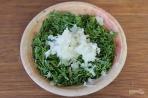 Зеленый борщ с говядиной - фото шаг 9