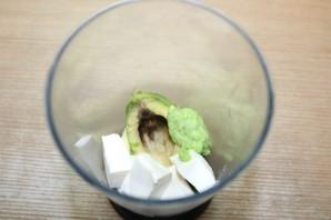 Острая шуба из авокадо с начинкой из крабовых палочек - фото шаг 2