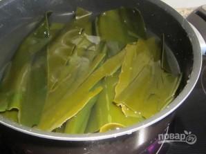 Салат из морской капусты и кальмаров - фото шаг 3